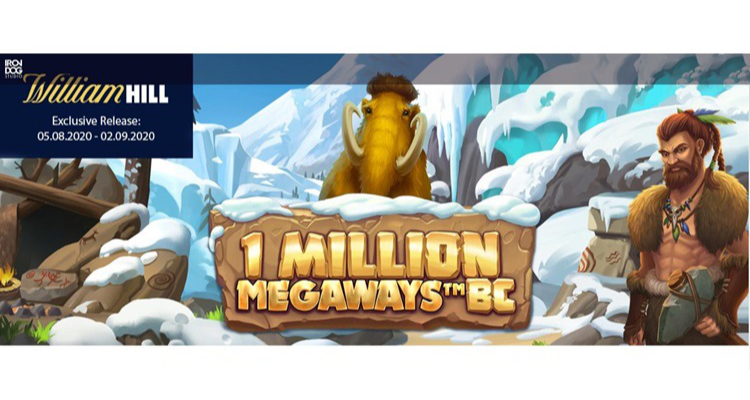 Iron Dog Studio pre-releases new 1 Million Megaways BC via William Hill