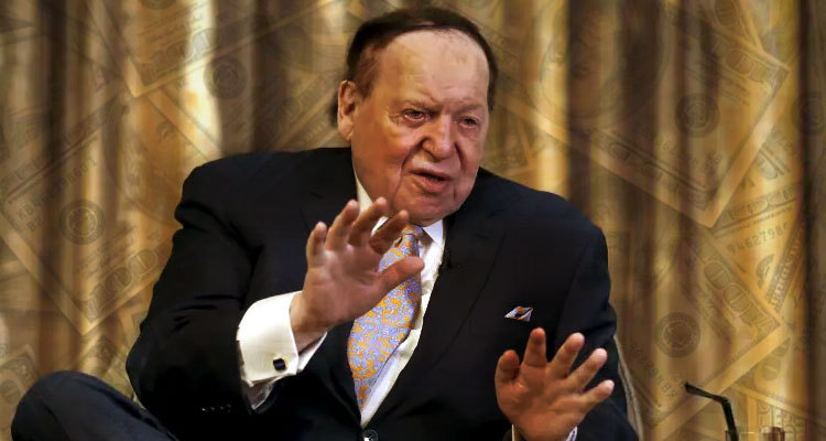 Casino mangate Sheldon Adelson to continue payroll and benefits for Las Vegas employees through October 31
