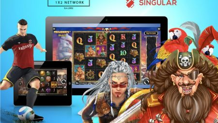 1×2 Network Integrates its Games with Singular