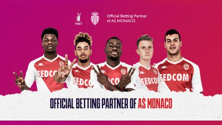 VBET Becomes Official Partner of AS Monaco