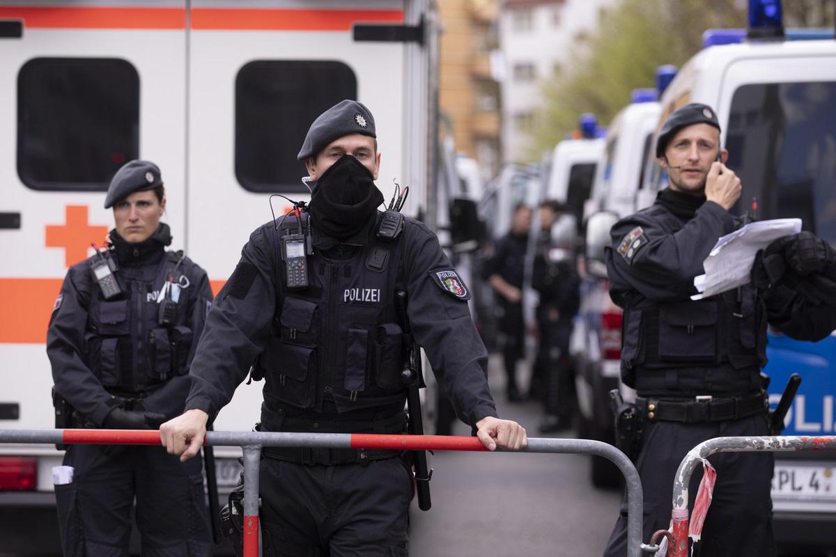 German Police Raids Gambling Facilities