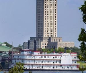 US riverboat casino moves to dry land