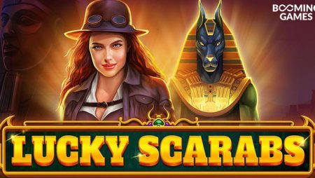 Booming Games new Lucky Scarab online slot game to launch soon!
