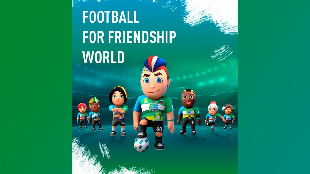 New multiplayer simulator Football for Friendship World