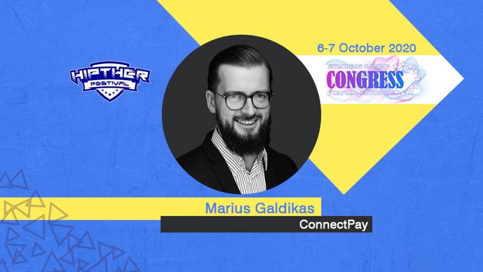 European Gaming Congress 2020 Speaker Profile: Marius Galdikas, Chief Executive Officer at ConnectPay