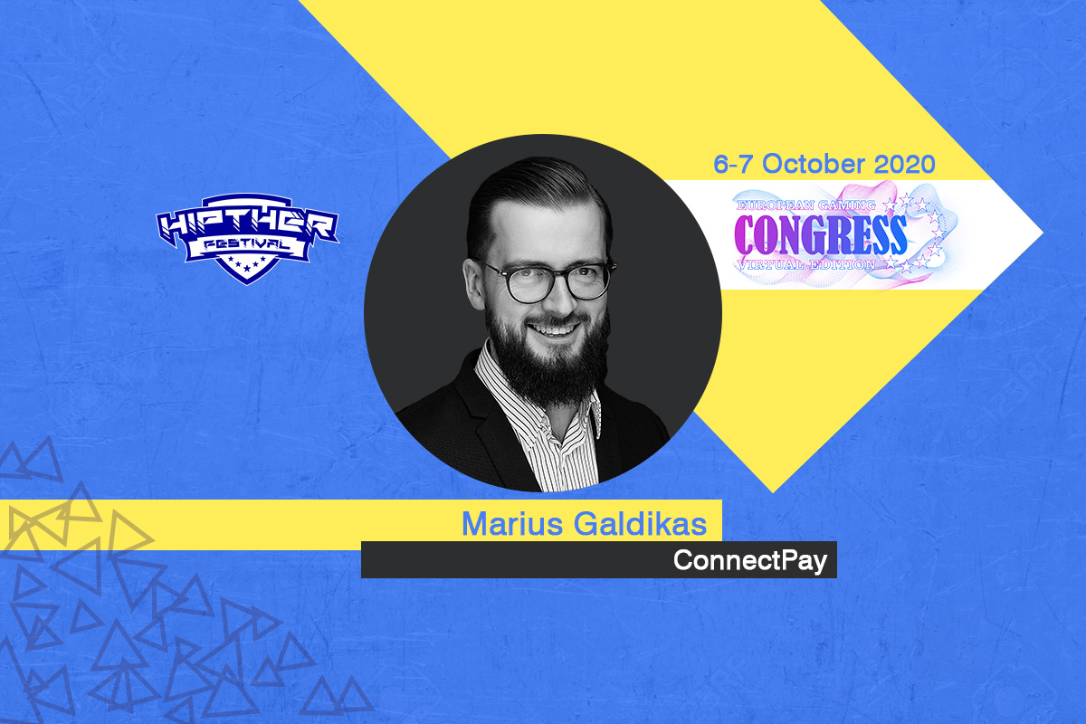 European Gaming Congress 2020 Speaker Profile: Marius Galdikas, Chief Executive Officer at ConnectPay