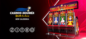 Zitro into New Caledonia casino