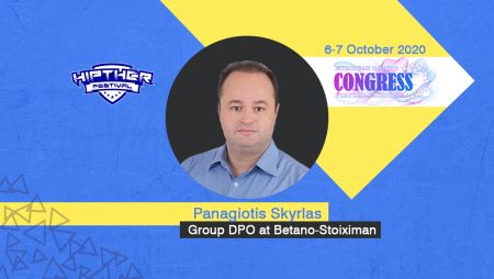 European Gaming Congress 2020 Speaker Profile: Panagiotis Skyrlas, Head of Information Security & Compliance – Group DPO at Betano-Stoiximan