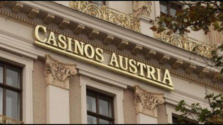Casinos Austria International bemoans first-half impact of coronavirus