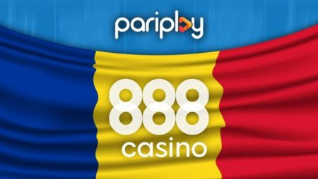 Pariplay's new partnership agreement with 888 Holdings to see widespread availability of its games portfolio in Romania's iGaming space