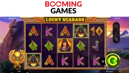 Booming Games launch Lucky Scarabs