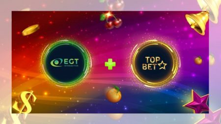 EGT Interactive in partnership with Topbet