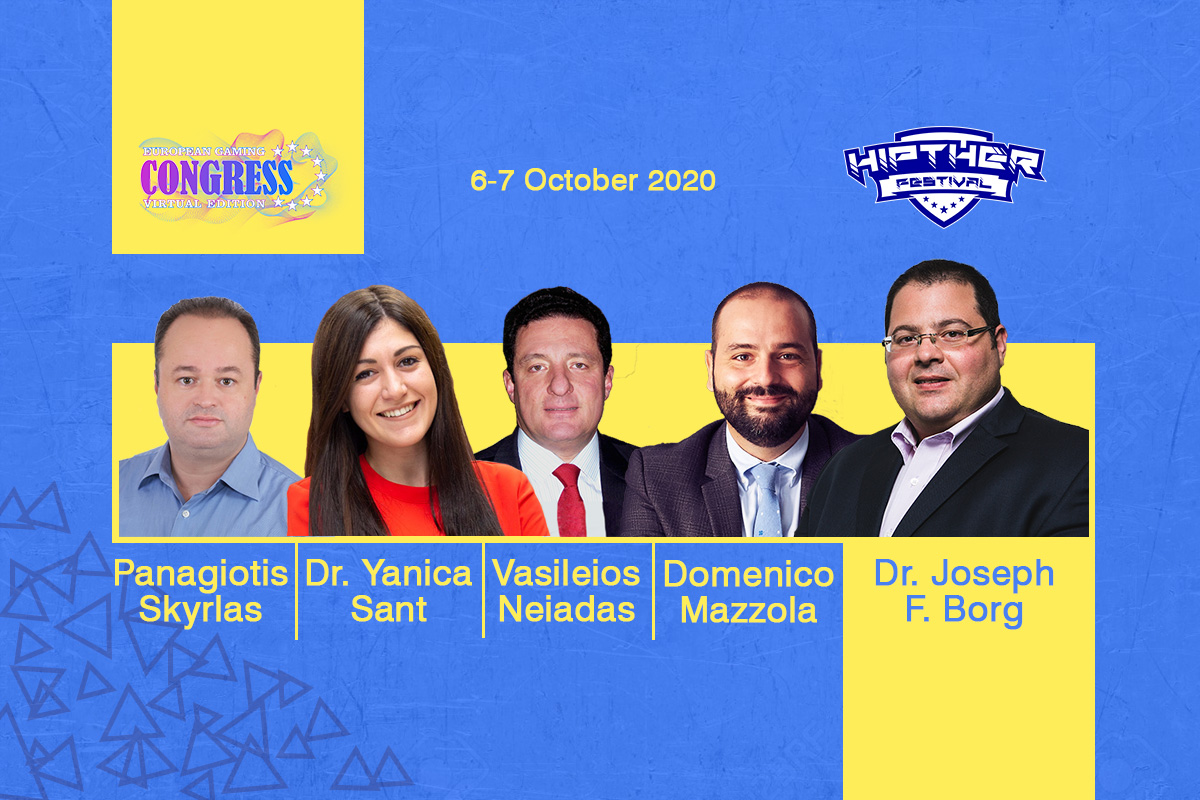 Greece, Italy and Malta in focus at #EGC2020VE with Dr. Joseph F. Borg (WH Partners), Dr. Yanica Sant (Malta Gaming Authority (MGA)), Panagiotis Skyrlas (Kaizen Gaming), Vasileios Neiadas (Fantasy Sports Interactive), and Domenico Mazzola (Altenar)
