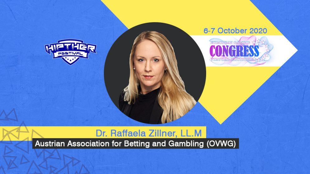 European Gaming Congress 2020 Speaker Profile: Dr. Raffaela Zillner, LL.M, Secretary General at Austrian Association for Betting and Gambling (OVWG)