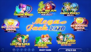 Mega Jack multigame returns in new format