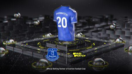 Everton agree Parimatch partnership