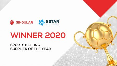 Singular Wins Sports Betting Supplier of the Year at 2020 Starlet Awards