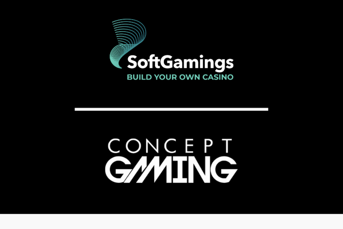 SoftGamings Partners With Concept Gaming