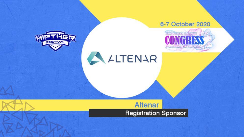 Altenar announced as Registration Sponsor at European Gaming Congress 2020 VE (Hipther Festival)