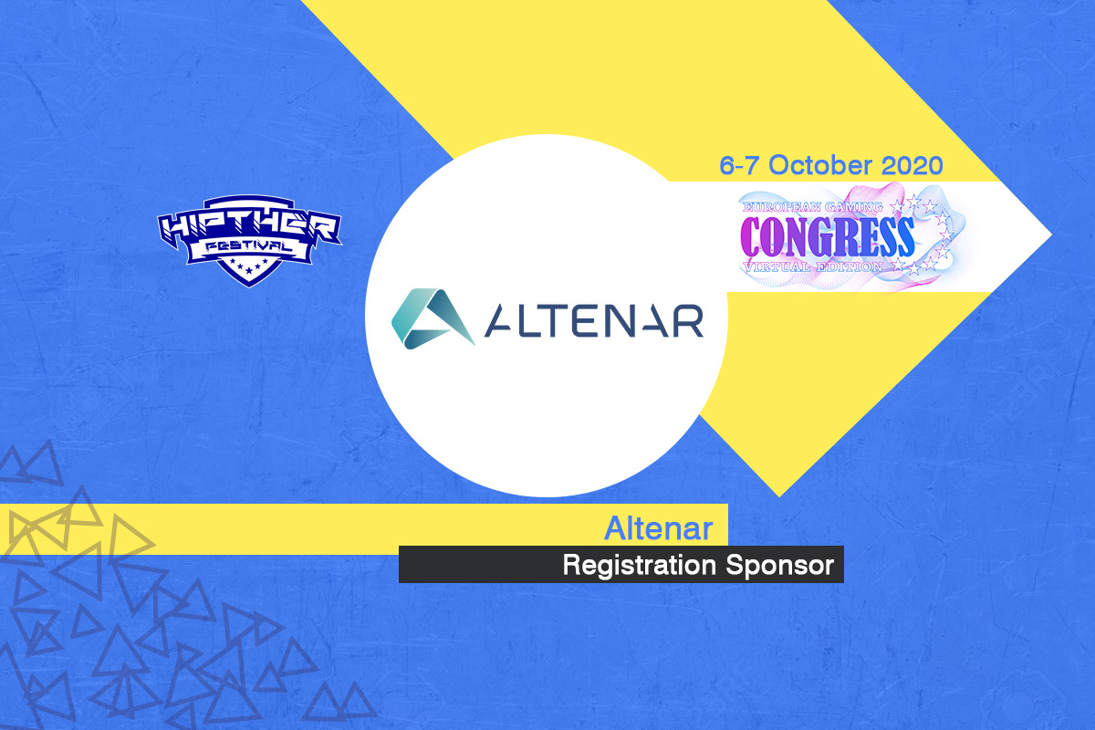Altenar announced as Registration Sponsor at European Gaming Congress 2020 VE (Hipther Festival)