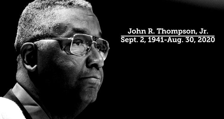 Georgetown's Legendary Head Coach John Thompson Jr. Tragically Died at Age 78