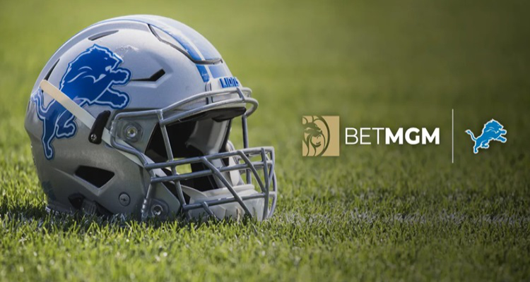 Detroit Lions agree multi-year BetMGM sports betting partnership
