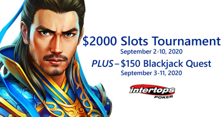 Intertops Poker offering epic slot tournament with $2000 in prize money up for grabs