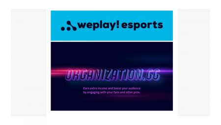 WePlay Esports invests in Organization.GG, a platform which helps pro gamers and streamers to boost their income