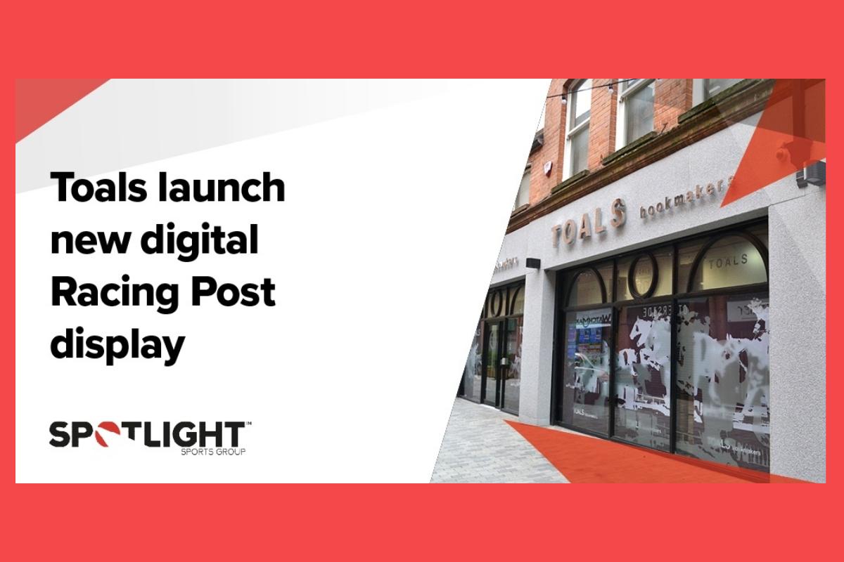 Toals launch new digital Racing Post display