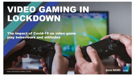IPSOS MORI REPORT RECOGNISES MULTIPLE BENEFITS OF VIDEO GAMES DURING LOCKDOWN