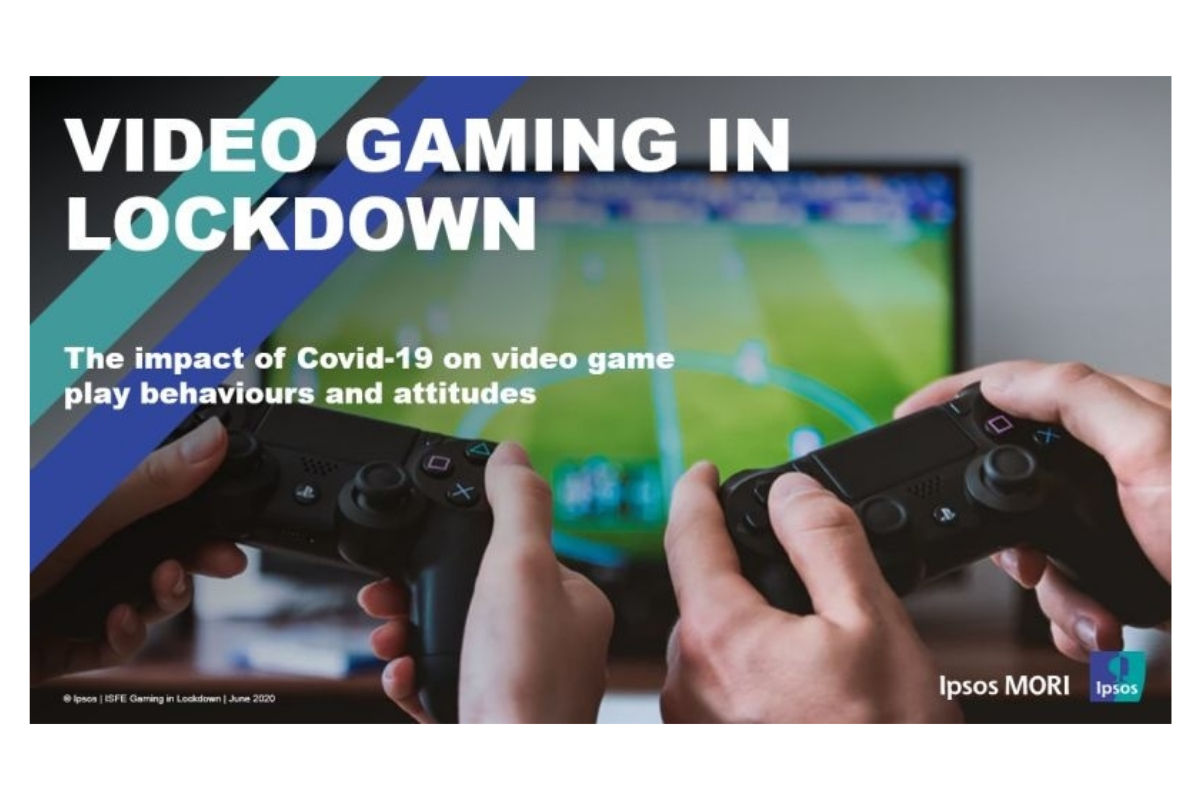 IPSOS MORI REPORT RECOGNISES MULTIPLE BENEFITS OF VIDEO GAMES DURING LOCKDOWN