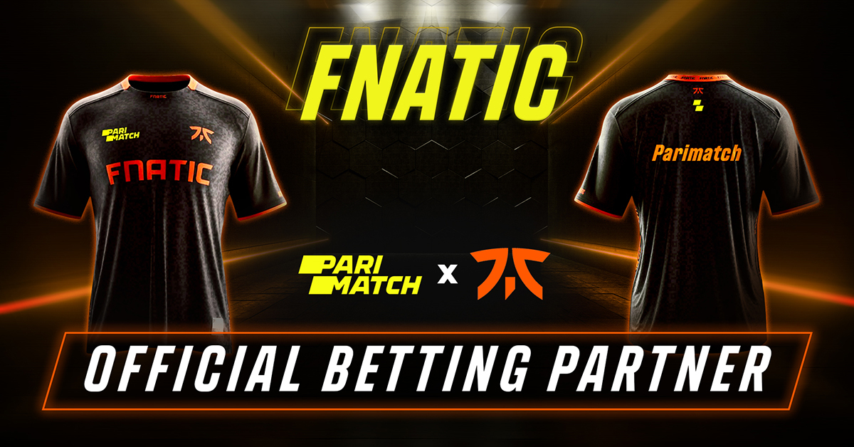 Parimatch and Fnatic Team Up in Global Esports Entertainment Partnership