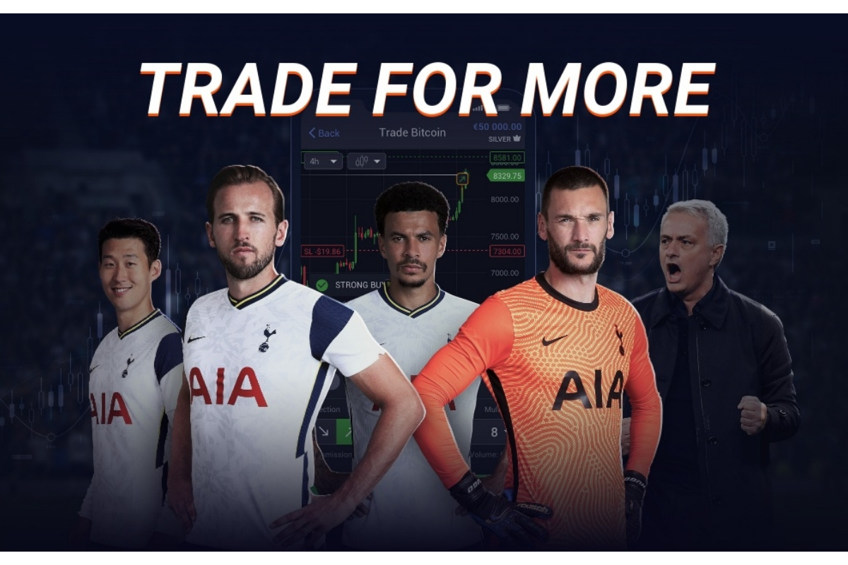 Tottenham Hotspur Announce Multi-Year Partnership With Libertex