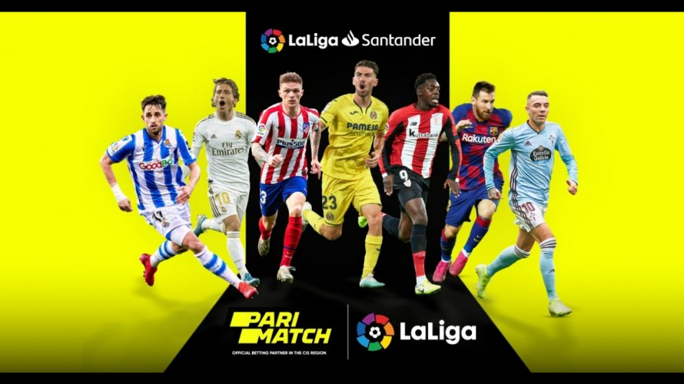 Parimatch becomes Official Betting Partner of LaLiga in the CIS region