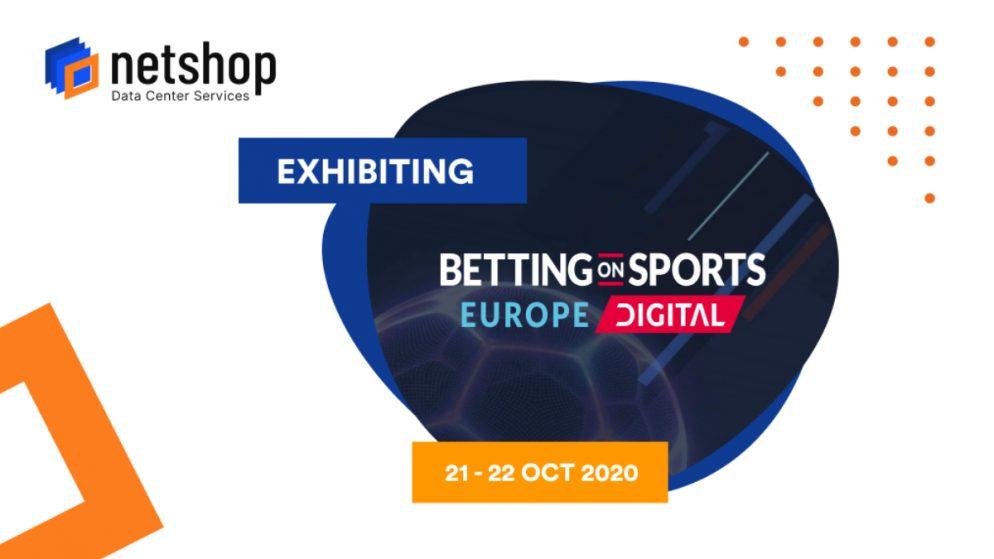 NetShop ISP Exhibiting in SBC Betting on Sports Europe Digital 2020