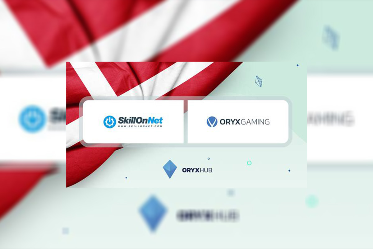 ORYX Gaming debuts in Denmark with SkillOnNet