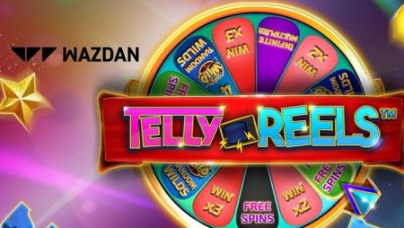 Wazdan goes retro with new online slot Telly Reels