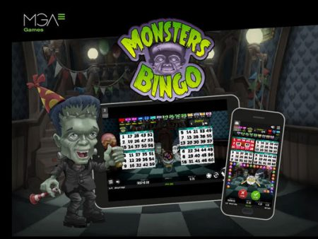 MGA Games launches spooky Halloween Bingo game featuring unique mini games