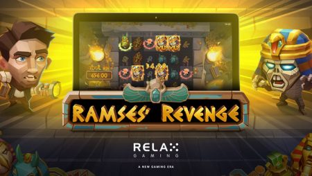 "Relax Gaming's new video slot Ramses' Revenge offers ""creepy, high-action"" Halloween experience"