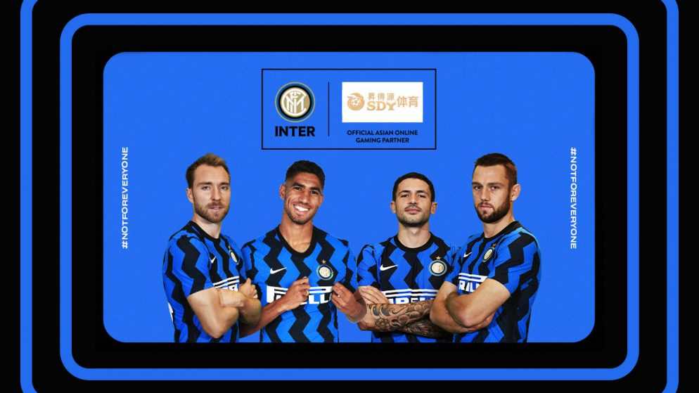 SDY Sports Becomes Official Asian Online Gaming Partner of FC Internazionale Milano