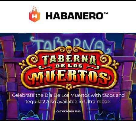 Habanero Systems BV unveils new Taberna De Los Muertos video slot