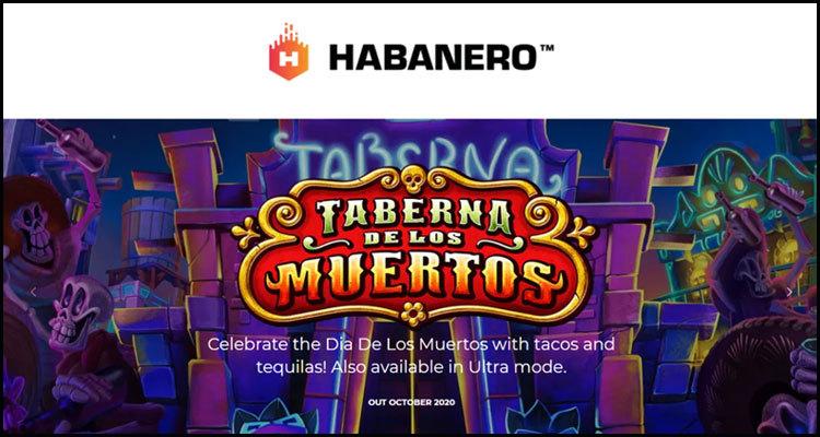 Habanero Systems BV unveils new Taberna De Los Muertos video slot