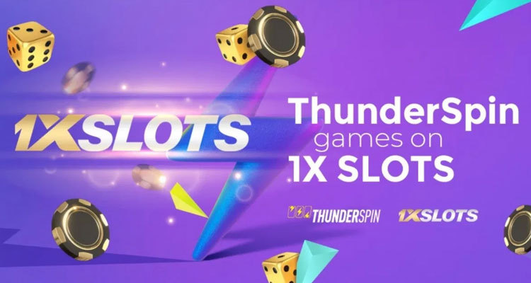 ThunderSpin and 1XSLOTS sign new content deal