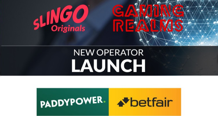 Gaming Realms launches Slingo Originals with Paddy Power Betfair via Relax Gaming