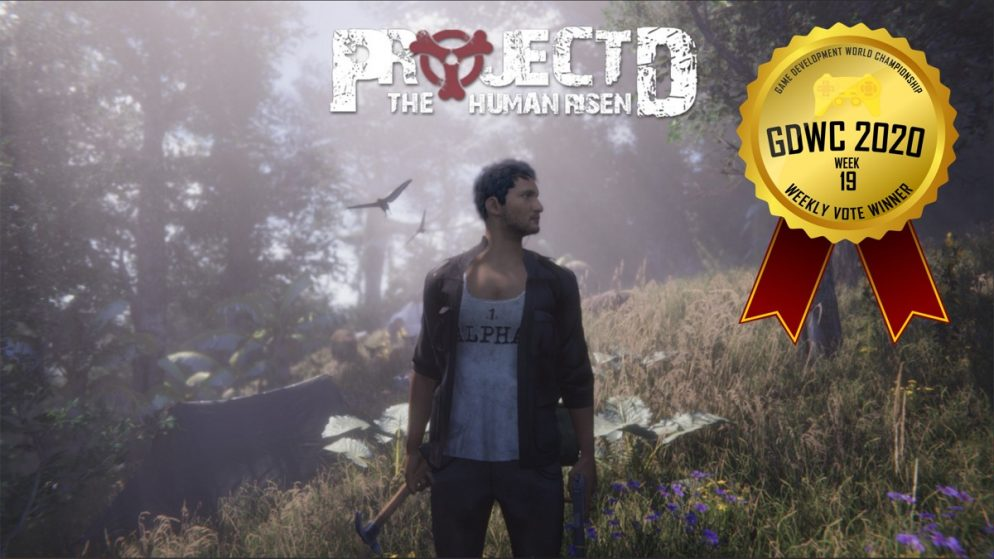PROJECT D: Human Risen Rises to Victory at the Game Development World Championship Weekly Vote!