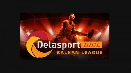 Delasport signs a major sponsorship with the Balkan International Basketball League (BIBL)