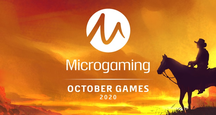 Microgaming details October slots roll out