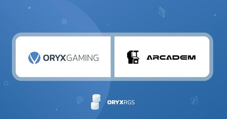 Arcadem newest Oryx Gaming RGS partner