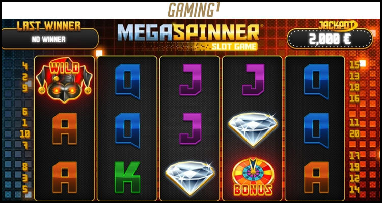 Gaming1 'reinvents the wheel' with new Mega Spinner video slot