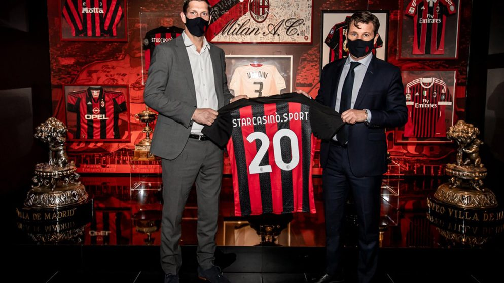 AC Milan Extends its Partnership with StarCasinò.sport